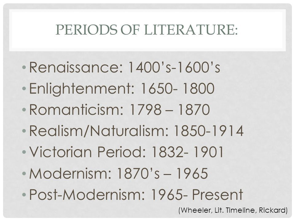 A History Of European Literature Ppt Download Literature American Literature European