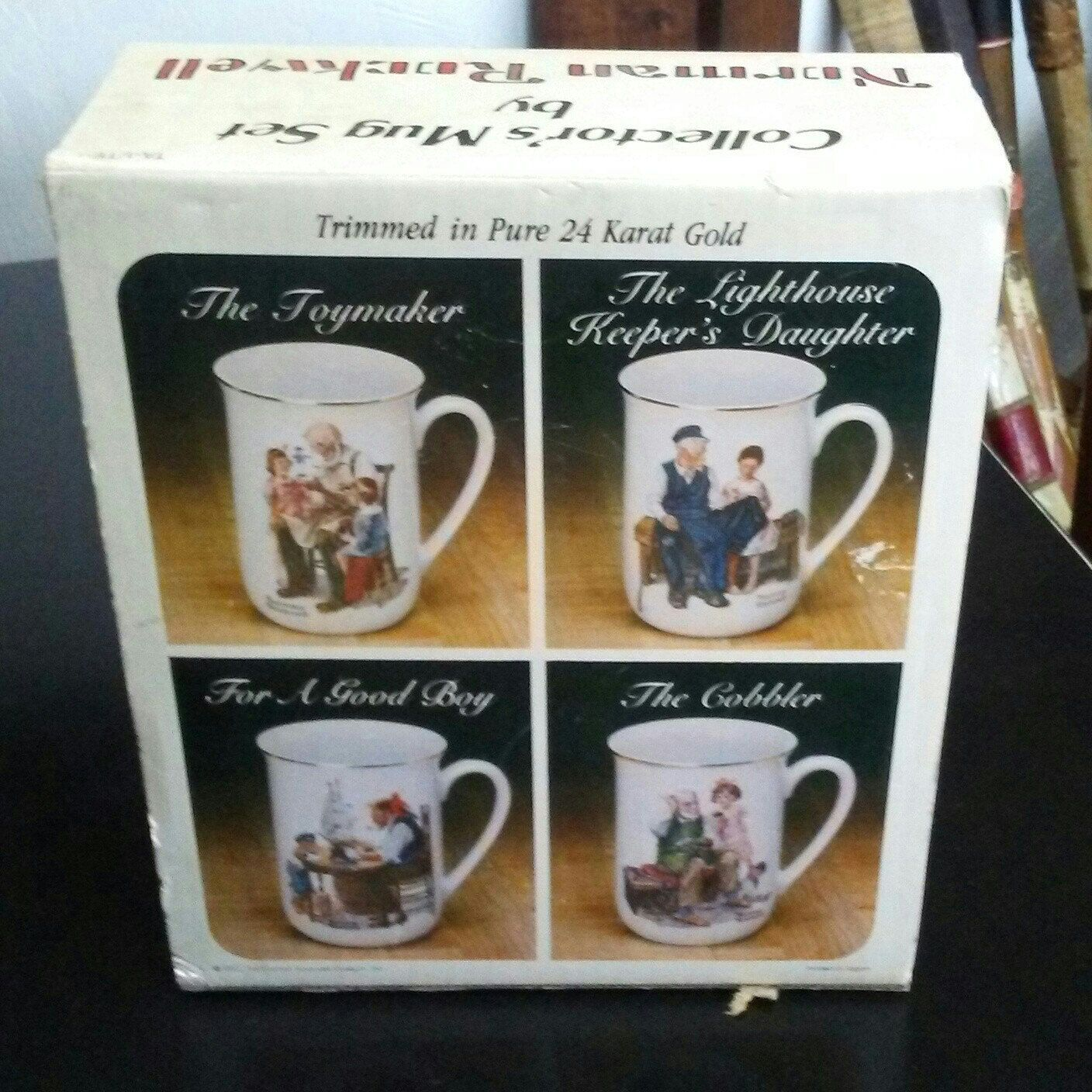 785e582d2b7 Vintage Norman Rockwell coffee mugs for sale at Frugal Fortune in our Etsy  shop. Nationwide shipping.