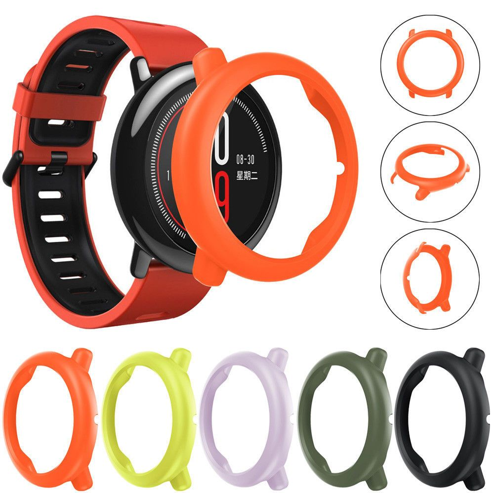 Slim Colorful Frame Pc Case Cover Protect Shell For Huami Amazfit Xiaomi Bip 179 Smart Watch Ebay Electronics