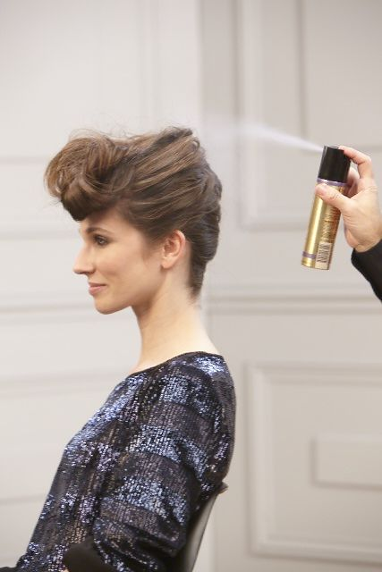 Chignon rock #coiffure #mariage   Hair styles, Hair, Hairspray