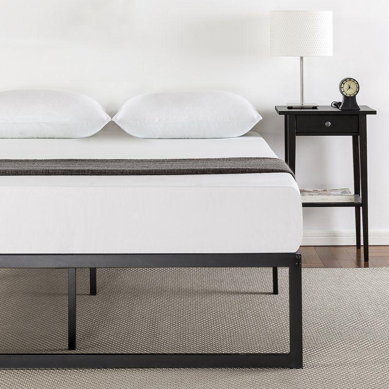 Bilski Bed Frame Platform Bed Frame Metal Platform Bed Low