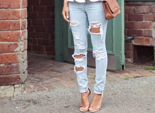 jeans strappati - Cerca con Google