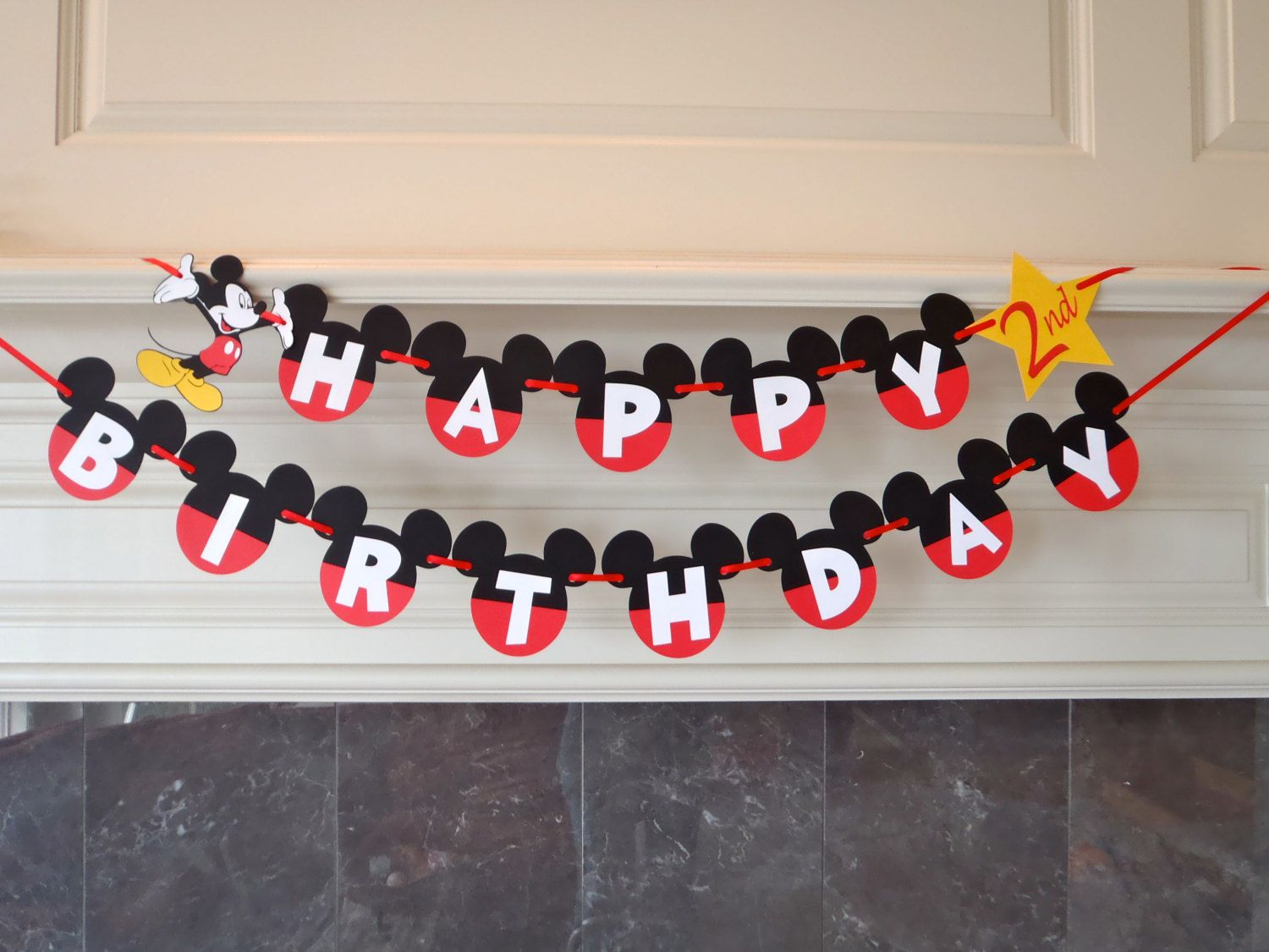 mickey mouse birthday bannermickey mouse 1st birthday party