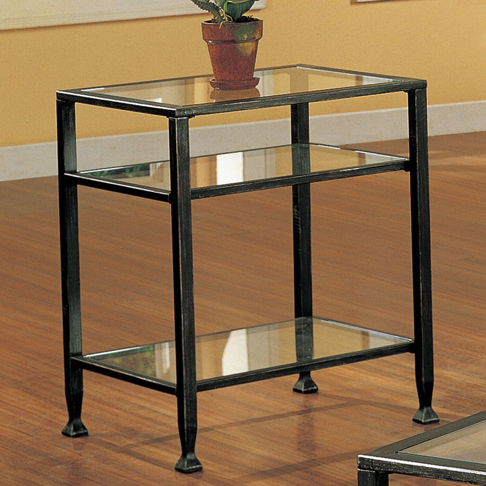 Bunch metal glass end table overstock shopping great deals on bunch metal glass end table overstock shopping great deals on upton home coffee sofa end tables geotapseo Choice Image