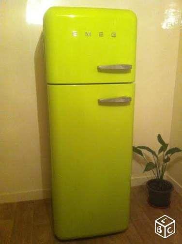 frigo smeg electrom nager paris frigo. Black Bedroom Furniture Sets. Home Design Ideas