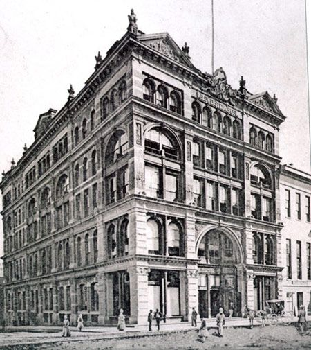 76 Best Images About Historic Downtown Storefronts On: Lowenstein's Department Store