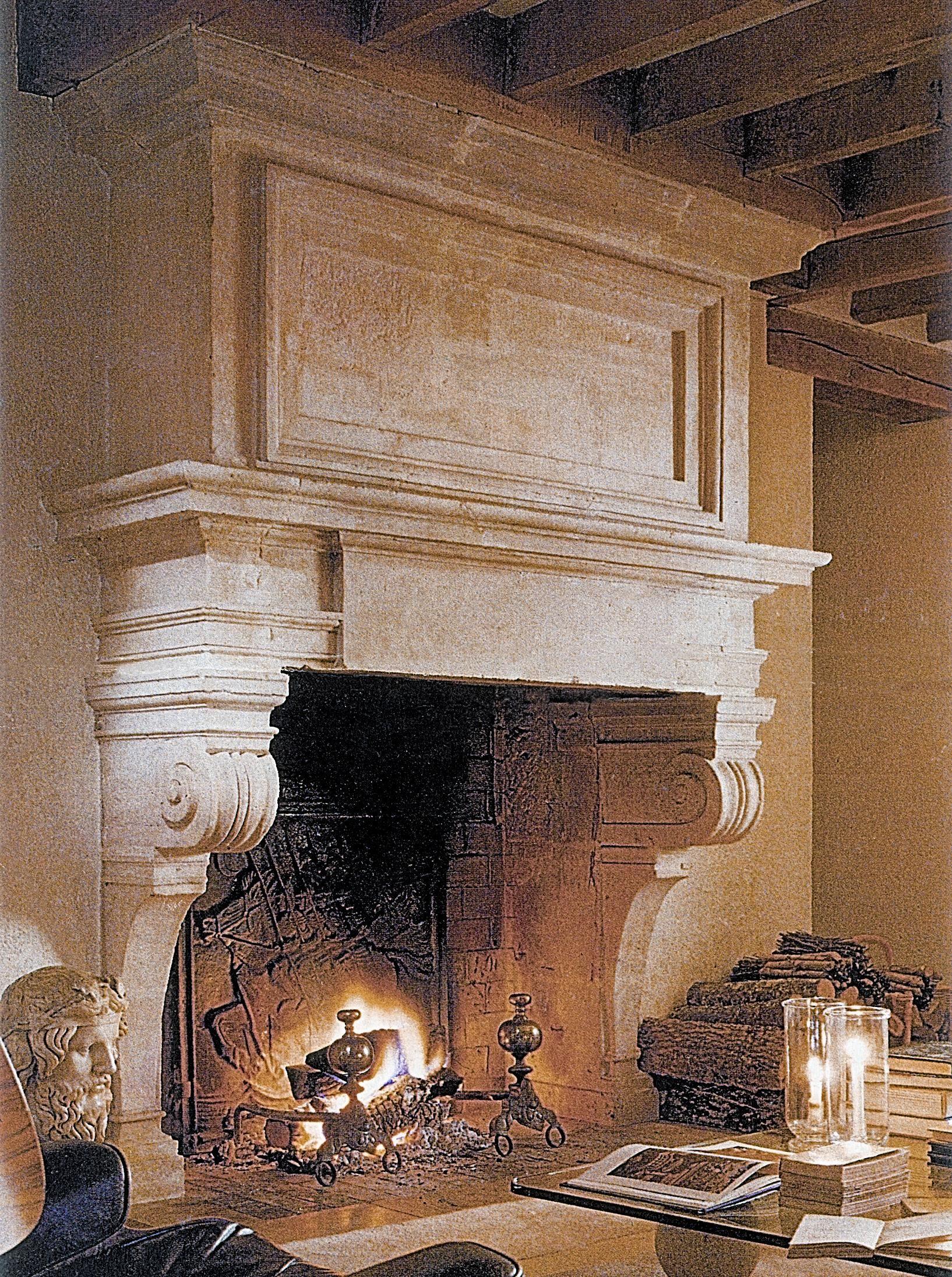 fireplace mantel designs | Designs' Fireplace Mantels Recreate an ...