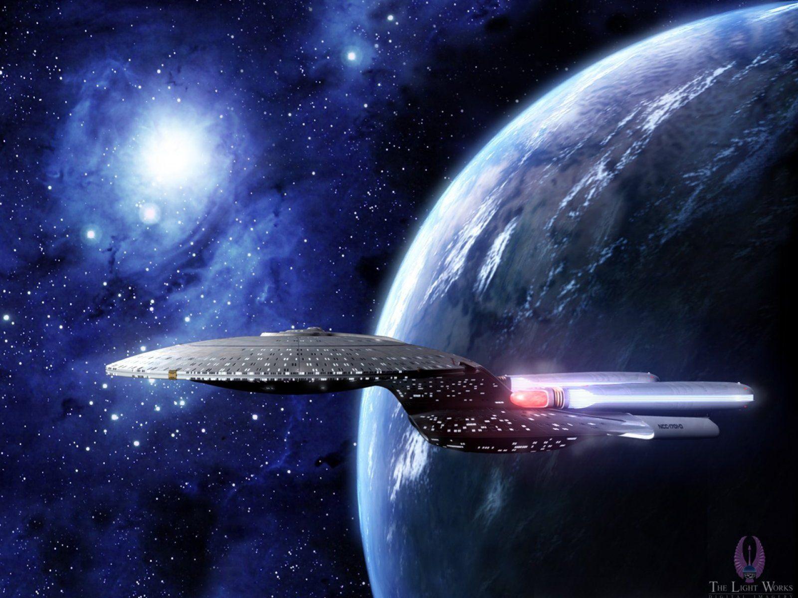 USS Enterpise D   free Star Trek computer desktop wallpaper   Star ...
