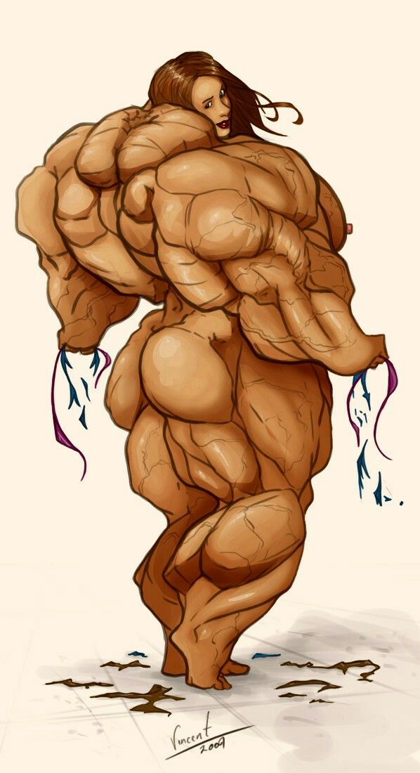 Female Muscle Growth Muscle Girls Art Girl Bodybuilding Comic Books Cartoon