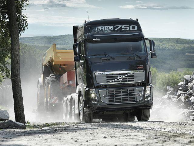 Volvo Fh16 750 Volvo Trucks Volvo Trucks