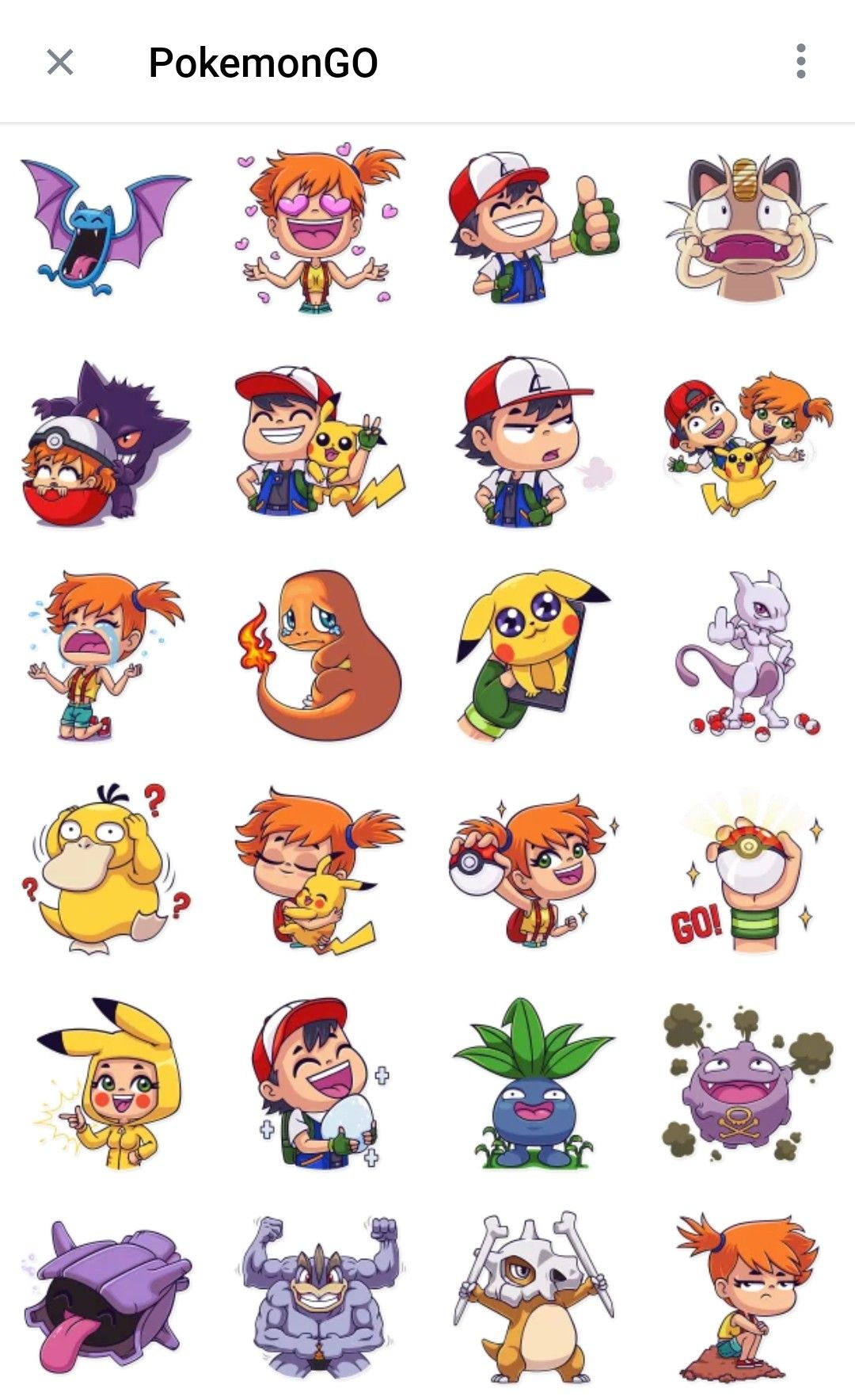 Pokemon Go Telegram Sticker Packs Telegram Stickers Pokemon Stickers Pokemon
