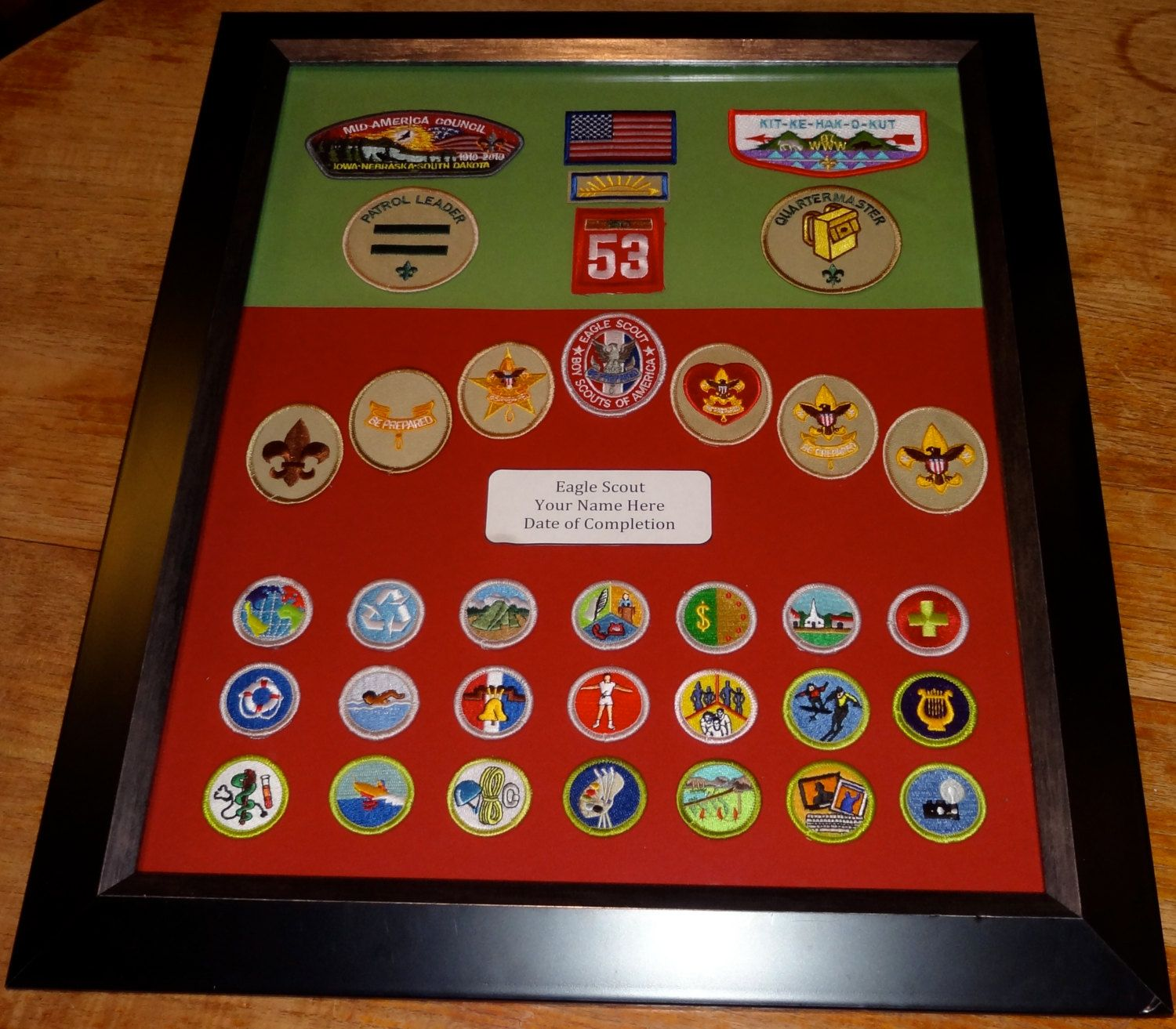 Eagle Scout Merit Badge 100 00 Via Etsy Very Nice