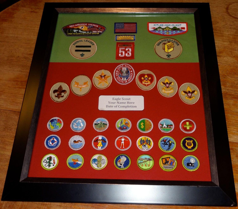 Eagle Scout Merit Badge 100 00 Via Etsy Very Nice