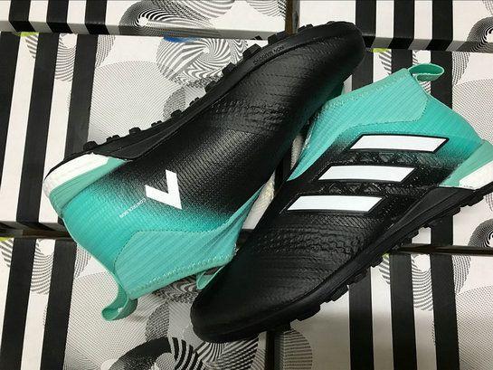 09dfe25c4010 Adidas Ace Tango 17+ Purecontrol Tf Black Energy Aqua White Genuine Sneaker