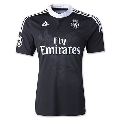 New Official 3rd Jersey Real Madrid 14 15 Adidas Clima Cool Dragon
