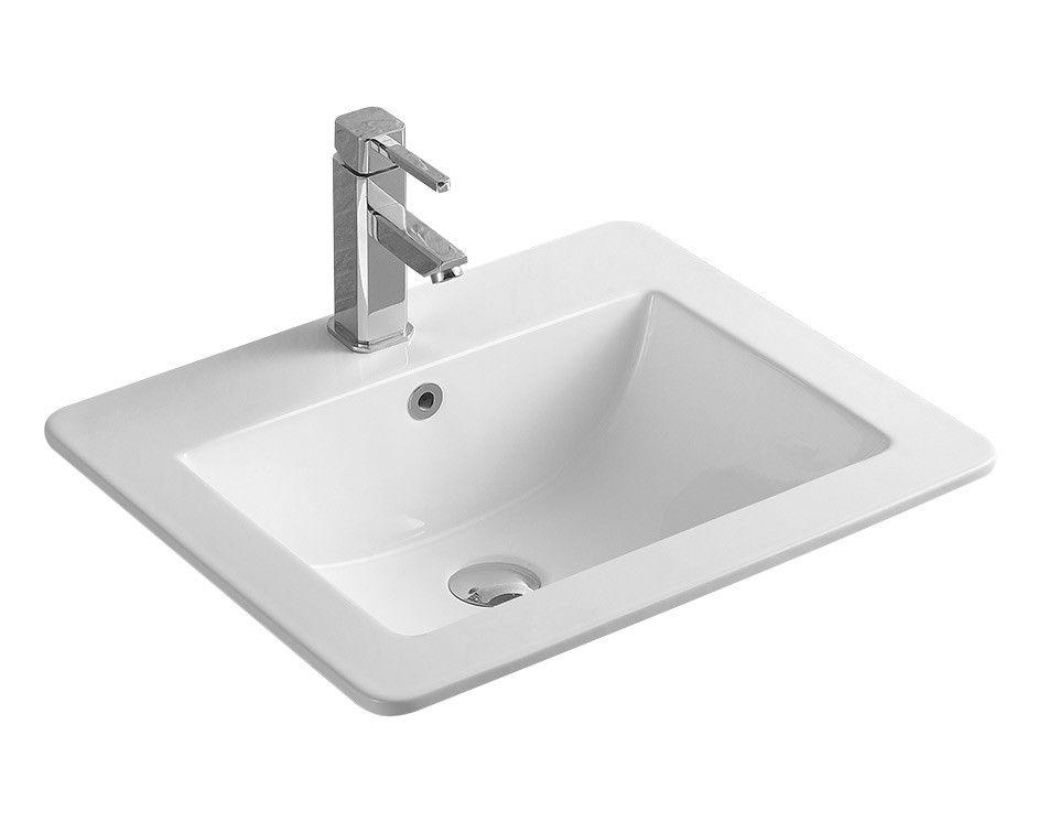 Essex recessed basin basin recess shower room