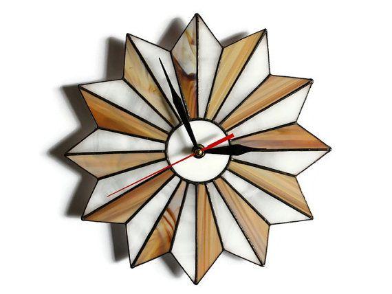 Reloj Rústico Decoración Rústica Decoración Del Por ZangerGlass