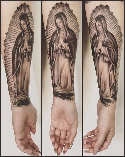 20 Tattoos That Pay Respect To La Virgen De Guadalupe Vivala El