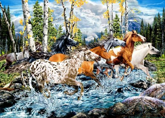 Find the Hidden Horses | ... find 10 15 and more hidden animals count how many animals are hidden
