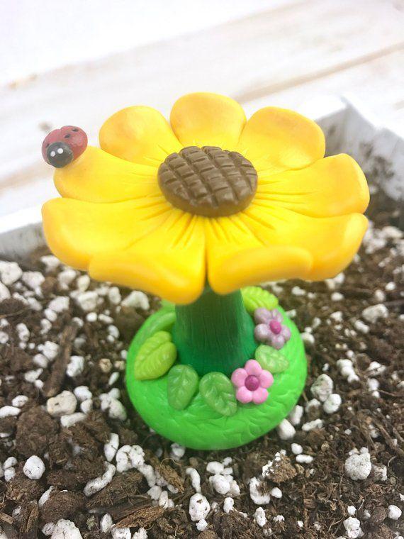 Fairy Garden Accessories Flower Bird
