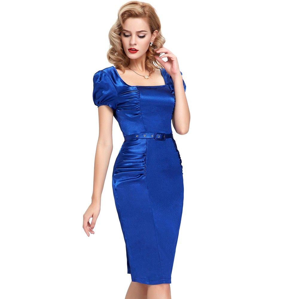 Marine Blaues Marilyn Vintage Kleid | Kleider 2017 | Pinterest ...