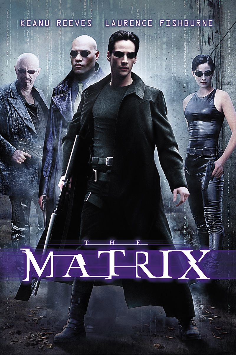 The Matrix [1999] Poster (With images) | Streaming movies ...