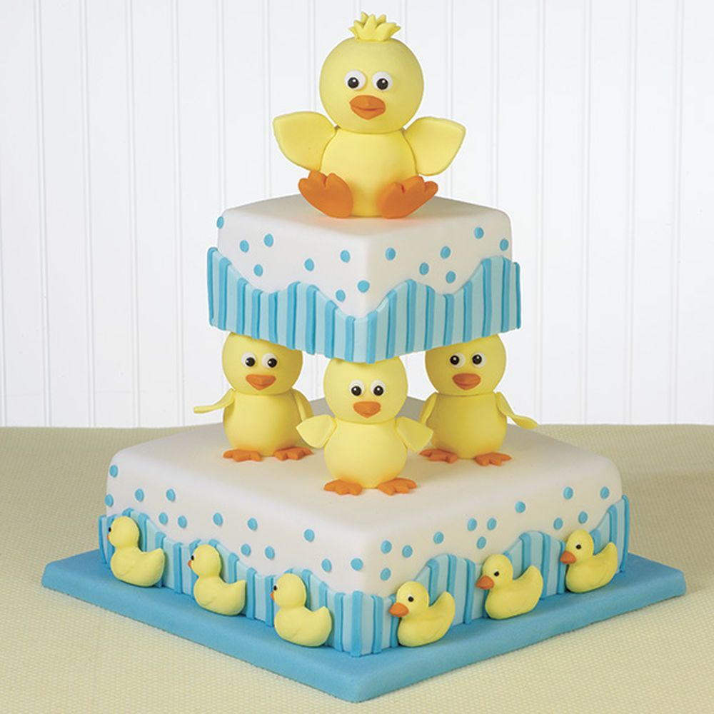 Bathtime buddies cake recipe baby shower cakes duck