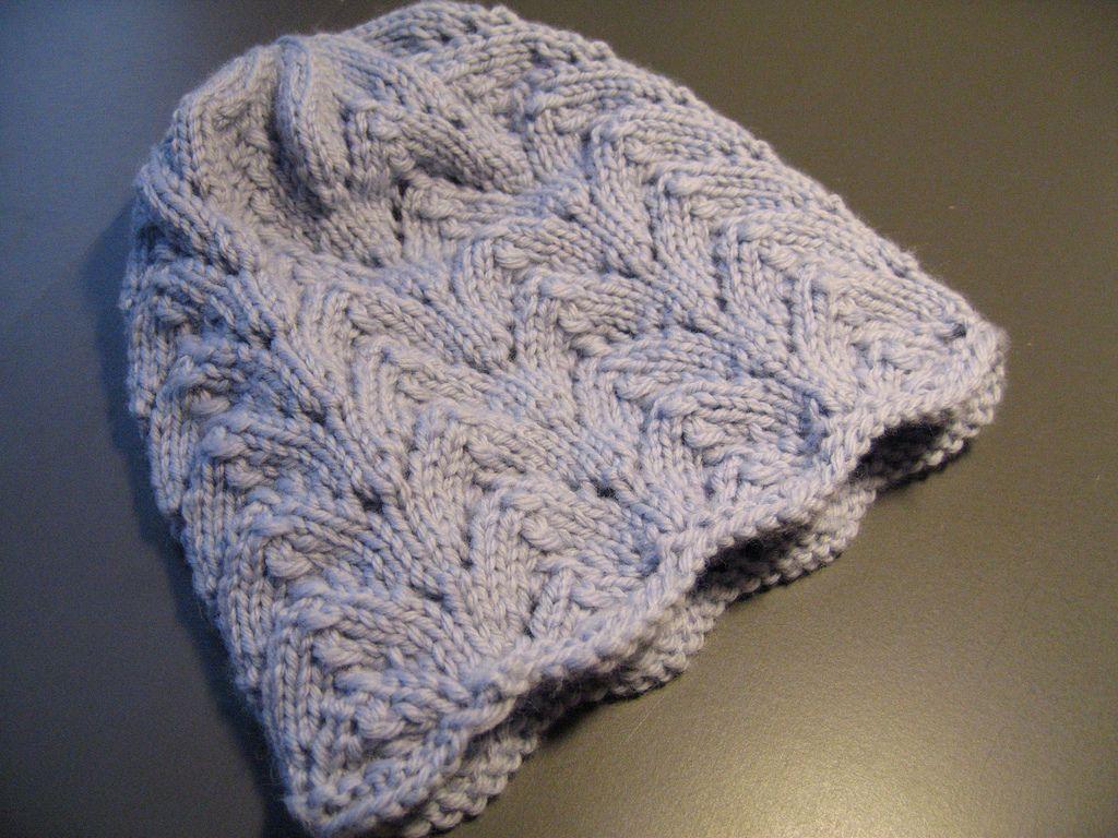 Fishtail Hat | Hat knitting patterns, Hat pattern, Knitting