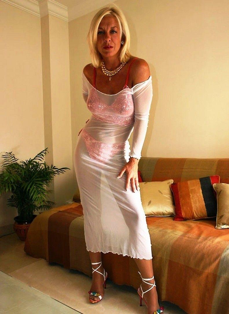 Up A Matures Dress