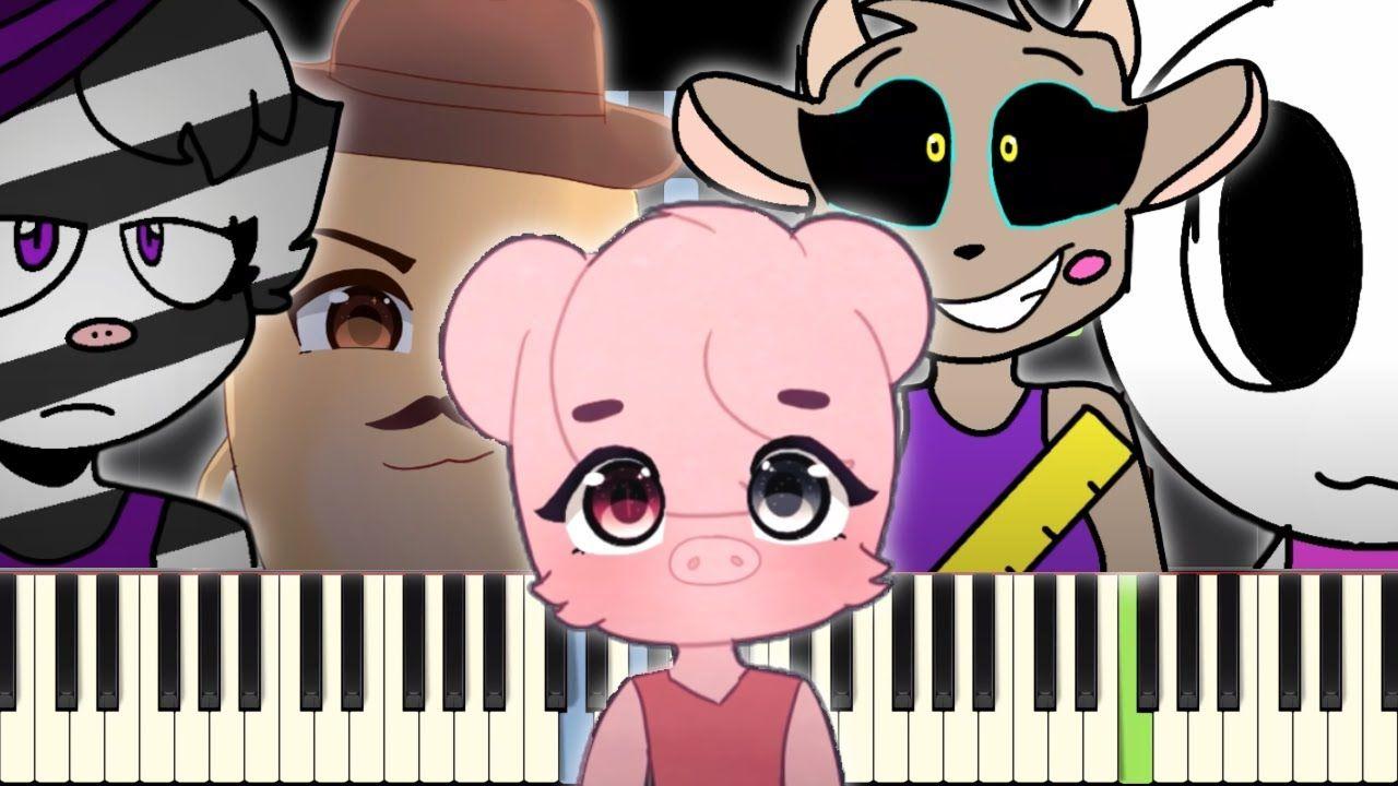 Piggy Memes On Piano Piggy Memes Piano