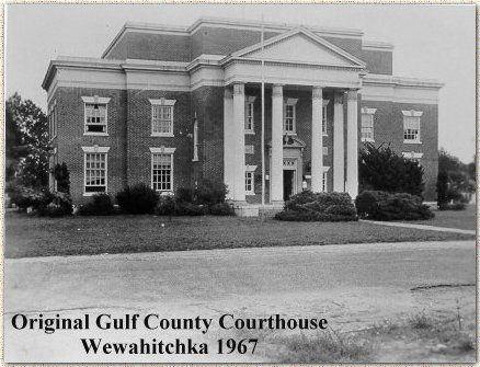 Gulf County Courthouse Wewahitchka Florida 1967 Gulf County