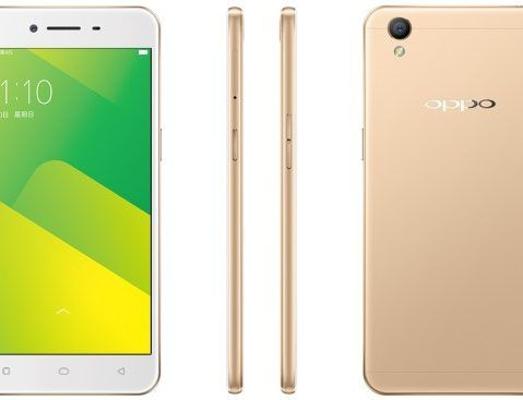 Oppo A57 revealed in China with fingerprint scanner : Key
