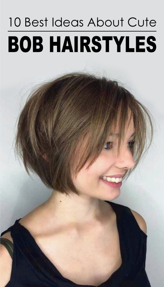 Yes We Are Convinced That Long Bob Hairstyle Is The Fabulous Choice For Long Hairstyles Here Cute Bob Hairstyles Bob Hairstyles Bob Hairstyles For Fine Hair
