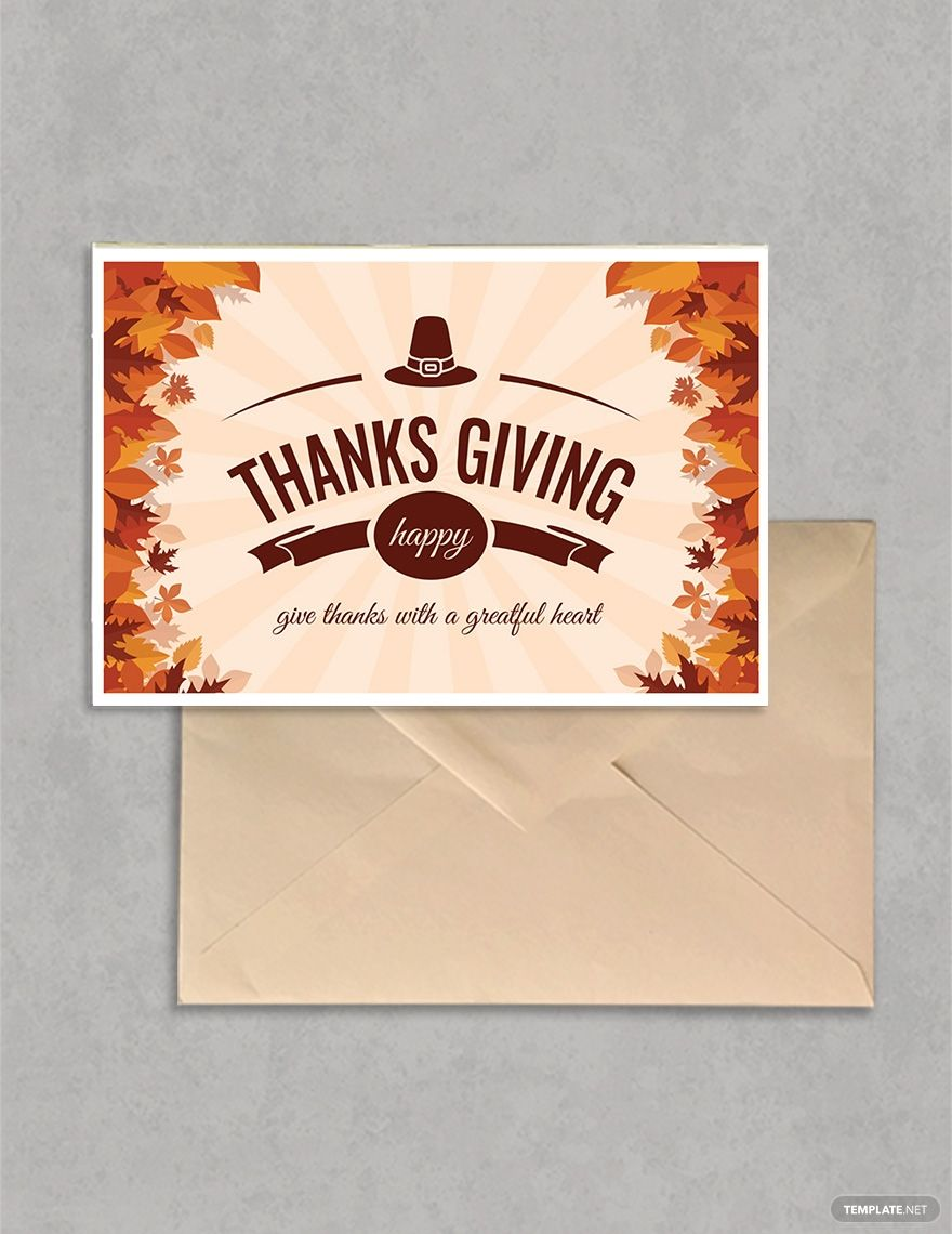 Free Printable Thanksgiving Greeting Card Ad Ad Printable Free Thanksgivin Greeting Card Template Thanksgiving Greeting Cards Thanksgiving Greetings