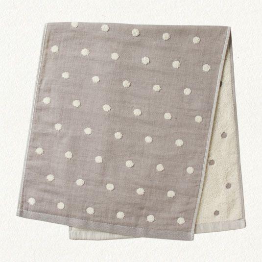 polka dot hand towels