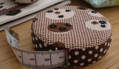 Covered Tape Measure Tutorial | A Spoonful of Sugar