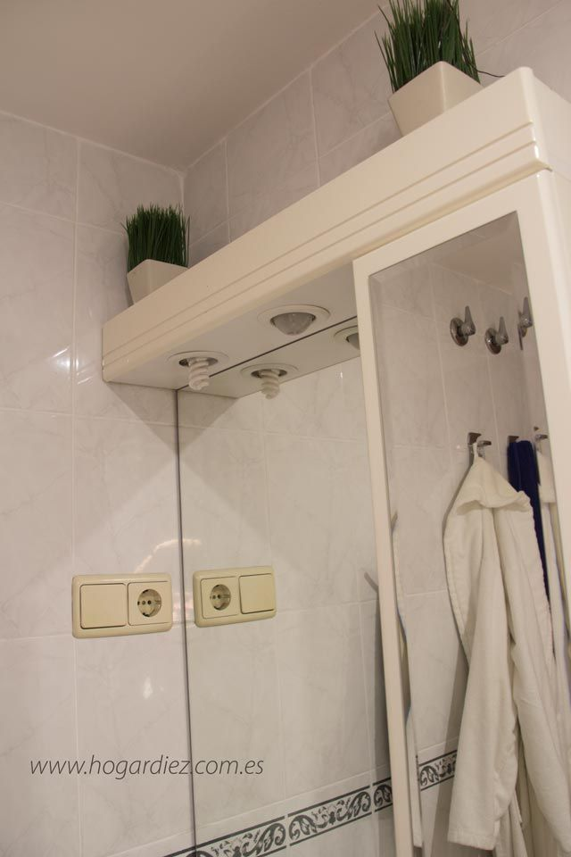 Cómo decorar un baño pequeño #decoración #hogar #baños Hogardiez