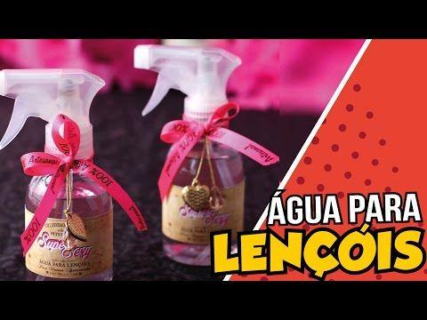 Como Fazer Água Aromática para Lençol Peter Paiva - YouTube