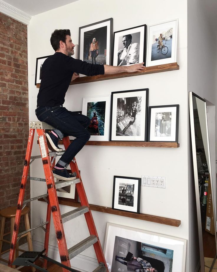 Now the fun part!! Laying out the images on the new shelves! Thanks @james covie is part of  - (adsbygoogle   window adsbygoogle    []) push(); Now the fun part!! Laying out the images on the new
