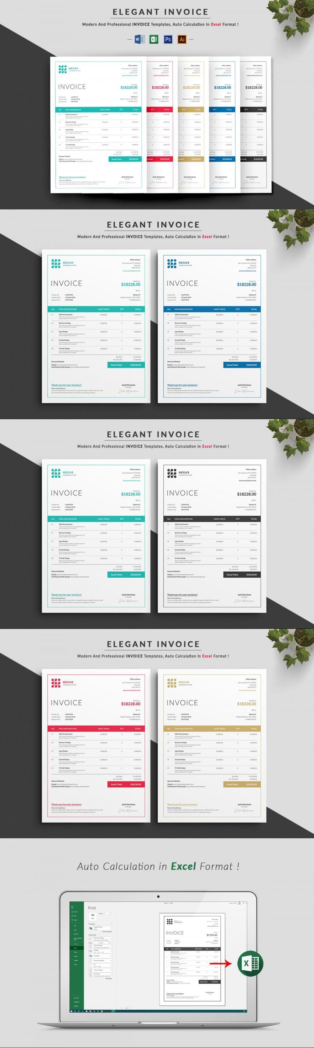 Invoice Stationeries Stationeries Receipt Blue Excel Clean Stationerytemplate Stationerydesi In 2021 Stationery Templates Stationery Design Stationery Printing