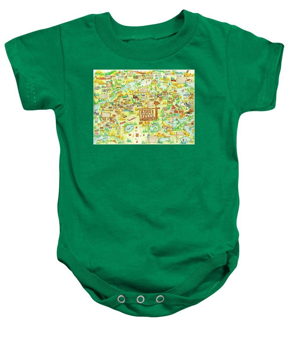 Eagle River Wi - Baby Onesie
