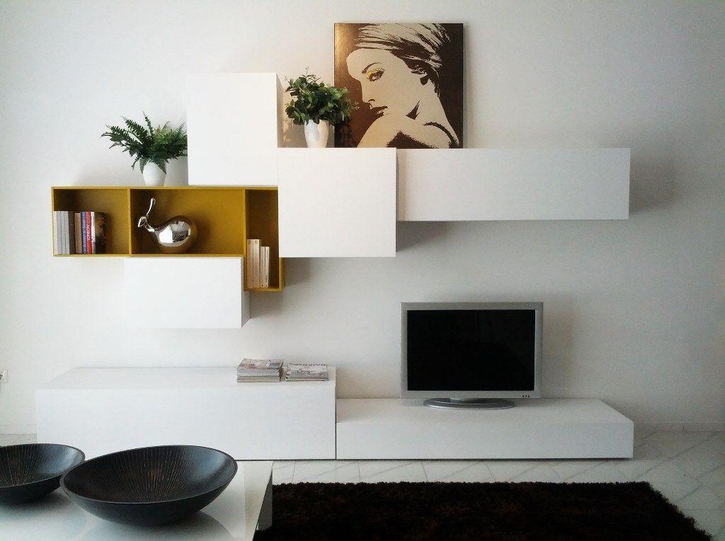Offerta parete attrezzata porta tv | Arredamento soggiorno ...