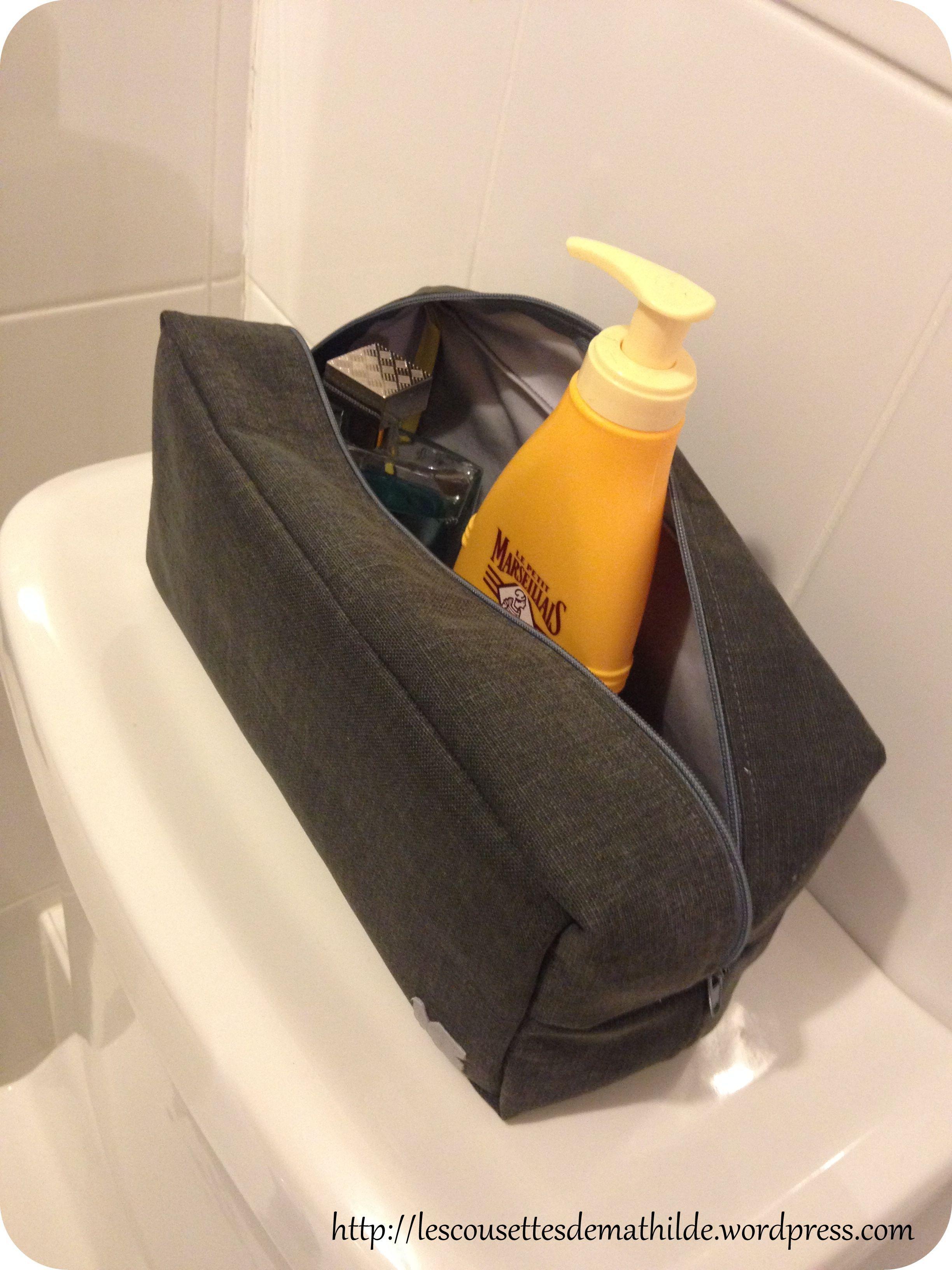 tutoriel la trousse de toilette pour homme trousses de toilette pour hommes trousse de. Black Bedroom Furniture Sets. Home Design Ideas