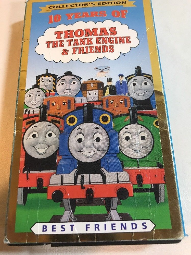 Thomas Christmas Wonderland Vhs.Thomas The Tank Engine Friends 10 Years Of Best Friends