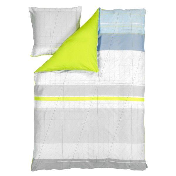 Hay Colour Block dynebetræk - gul - Sengetøj - Soveværelse - HAY Pris 530 kr DONE - 2 stk