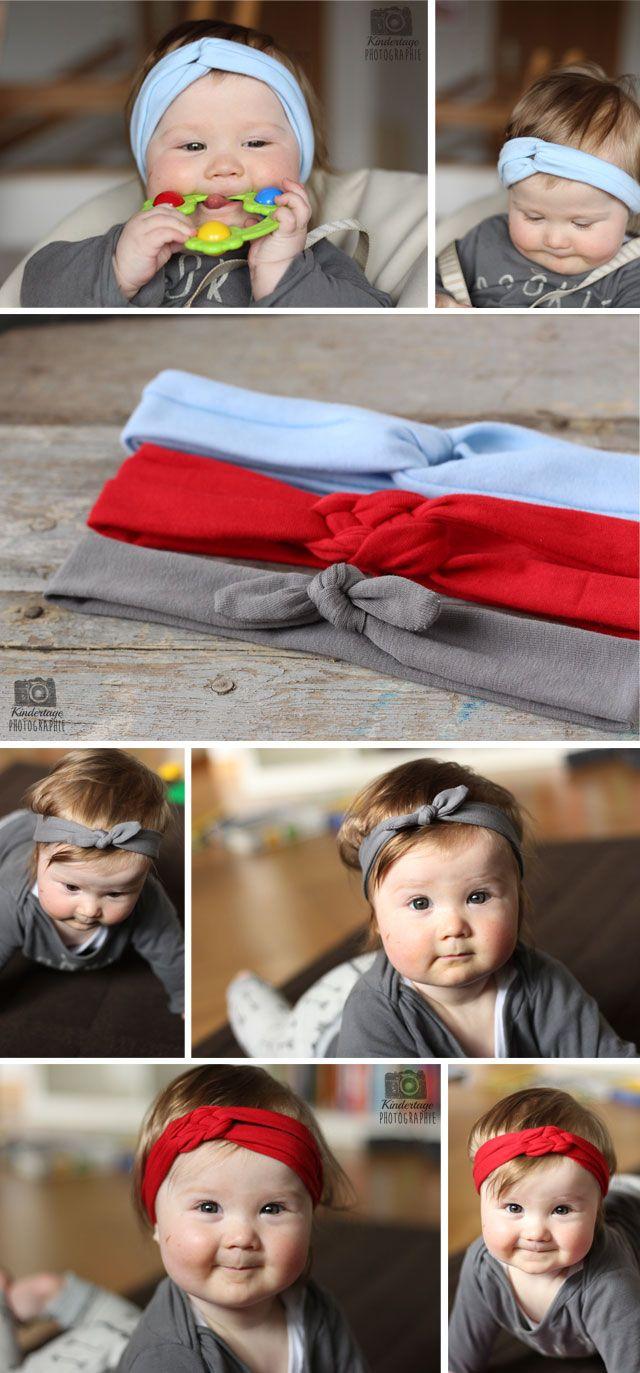 Baby Stirnbänder Turban Geknotete Mädchen Haarbänder Headwrap Kopfbedeckungen
