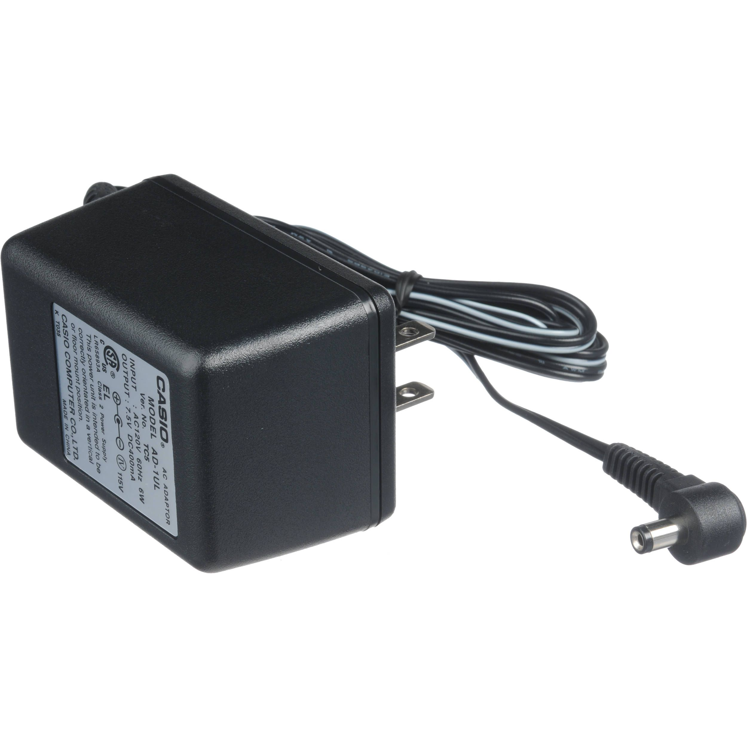 100 Brand New 240v 2 1mm 7 5v Casio Ad 1a Power Supply Ac Adapter Free Shipping Computer Power Supplies Power Supply Universal Power Adapter