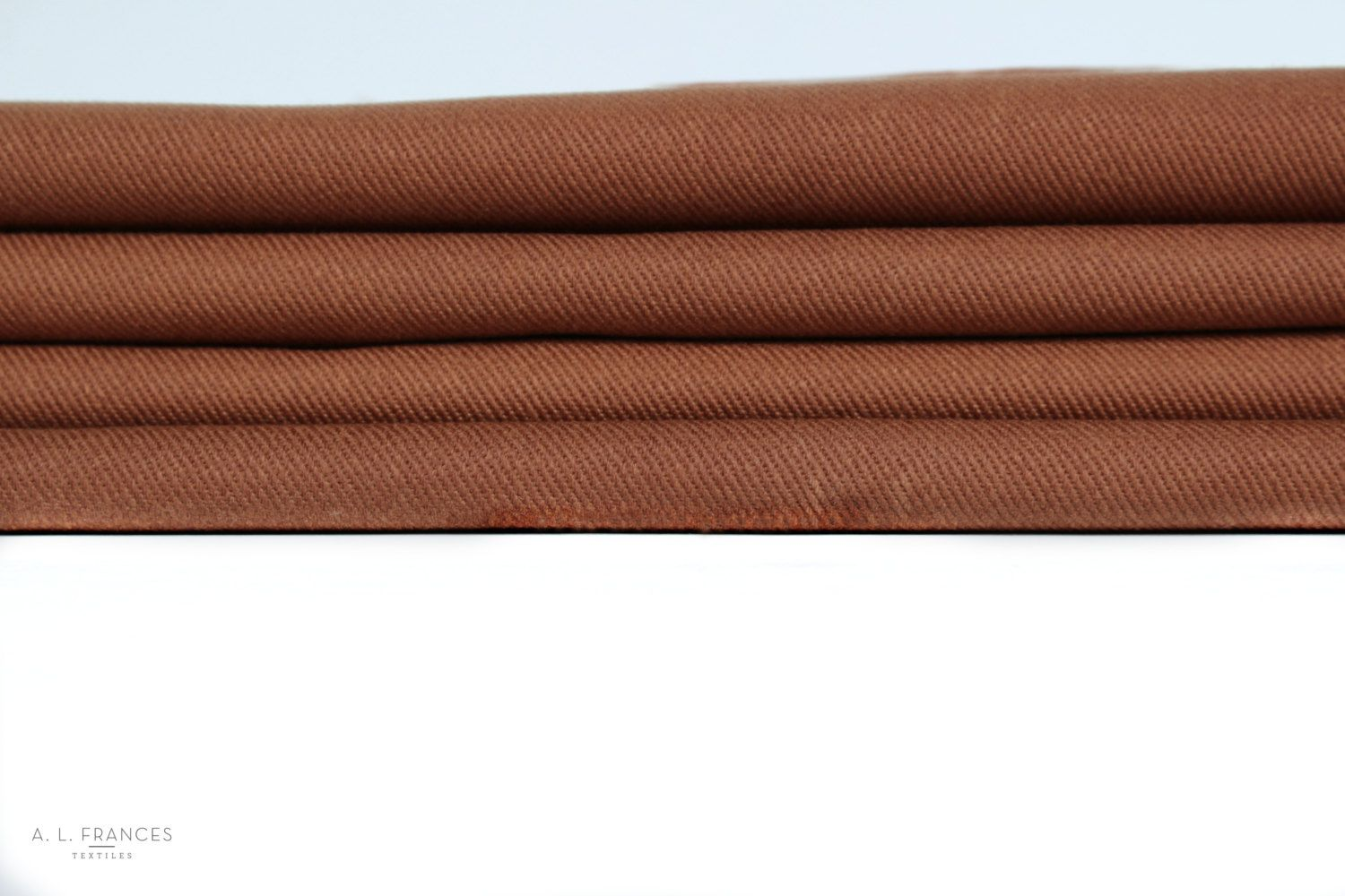 Waxed Cotton Denim Twill Fabric Copper 12 Oz 60 Inches Wide By The Yard Waxed Cotton Fabric Cotton