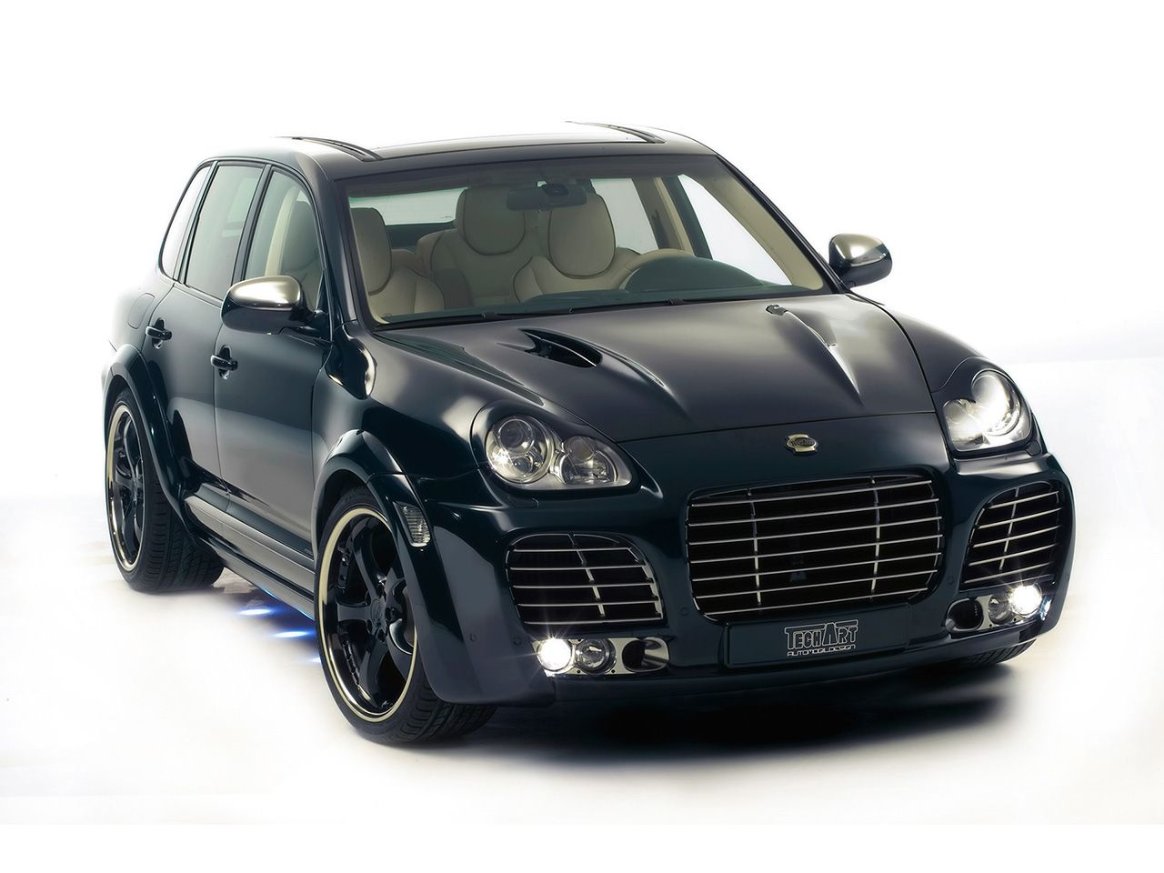 TECHART Magnum based on Porsche Cayenne Turbo  Front HD