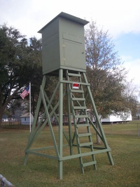 Diy Deer Stand Deerhunter95 Hunting Season Pinterest